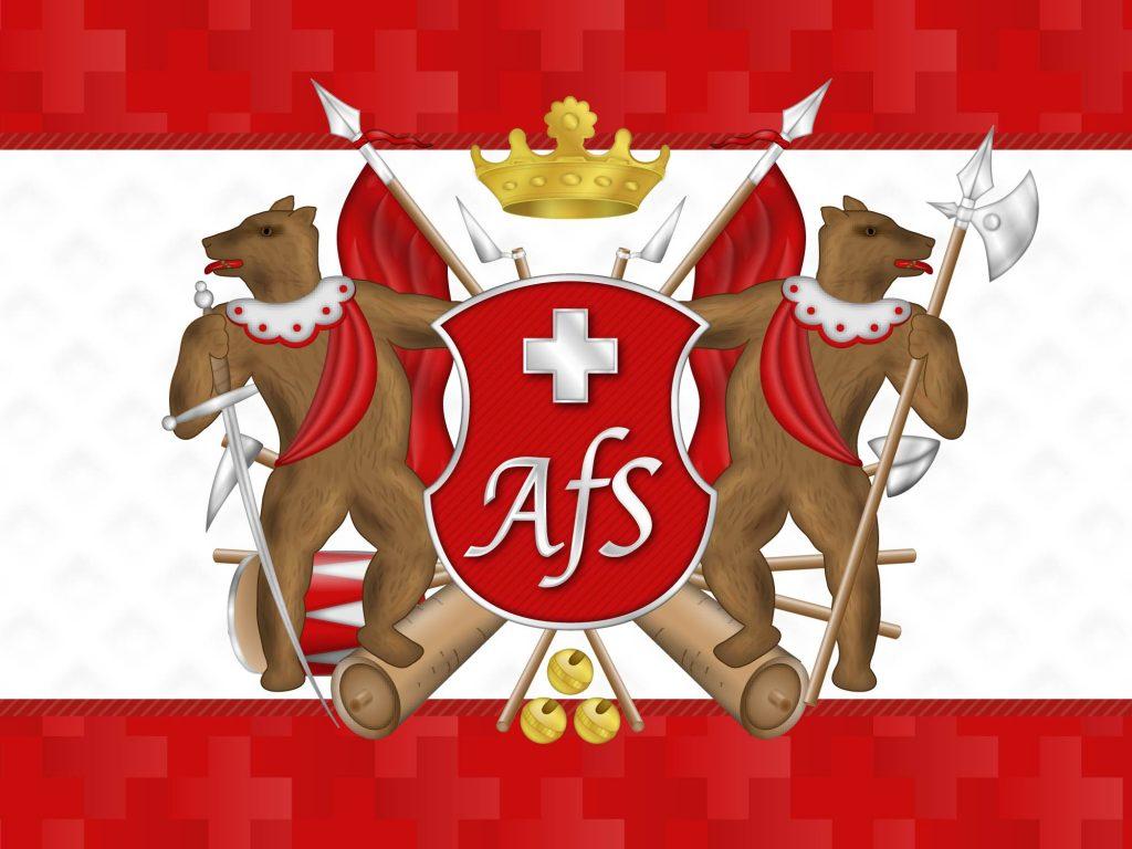 Grafik Design Gesamt mit Wappen AFS
