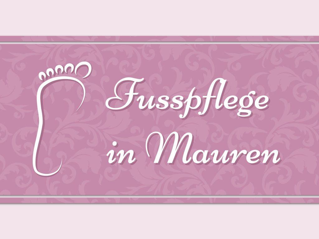 Corporate Design Fusspflege in Mauren