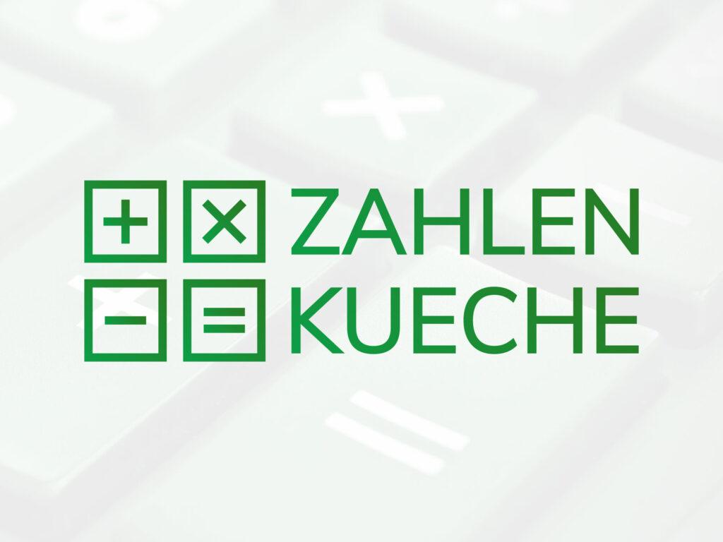 Zahlenküche Logo Gestaltung
